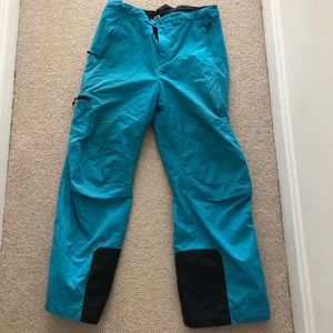 REI blue snow pants